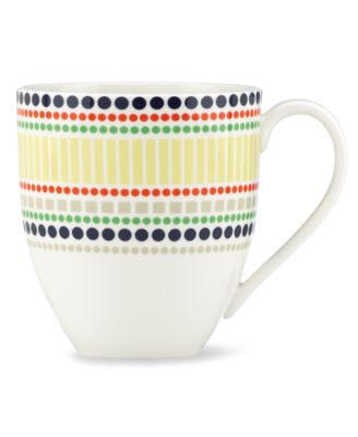 kate spade new york Dinnerware, Hopscotch Drive Dotted Mug