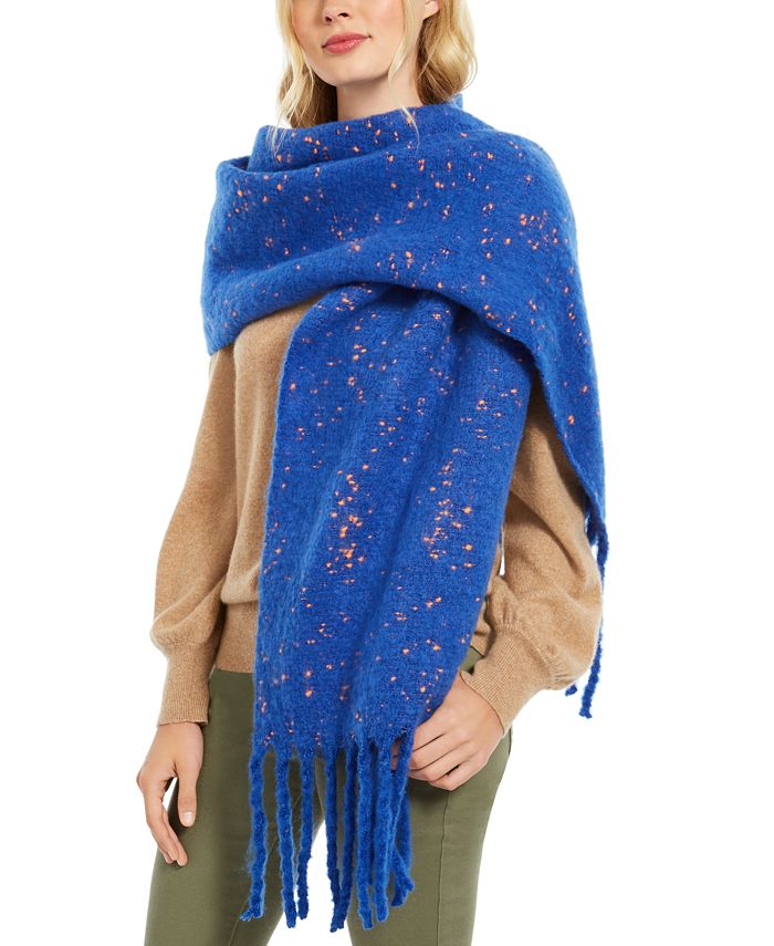 DKNY - Pop-Neon Speckled Scarf