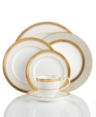 Dinnerware, Odessa Gold Dinner Plate
