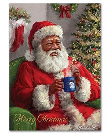 Masterpiece Merry Christmas Santa Holiday Boxed Cards