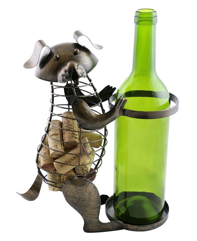 Wine Bodies Dog Bottle and Cork Holder