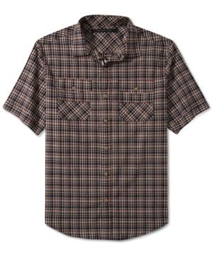 Sean John Shirt Rain Slub Check Shirt