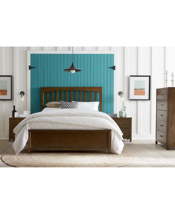 Furniture Ashford Bedroom Furniture, 3-Pc. Set (Queen Bed, Nightstand & Chest) & Reviews - Furniture - Macy's