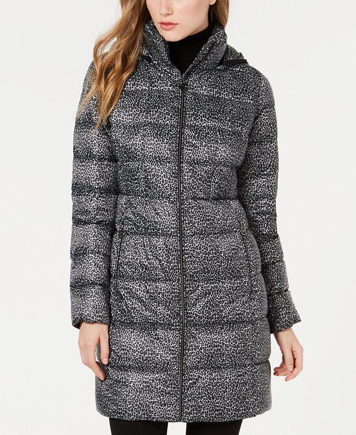 Michael Kors - Long Packable Down Puffer Coat