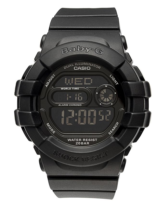 G-Shock - Watch, Women's Digital Black Resin Strap 42x46mm BGD140-1A