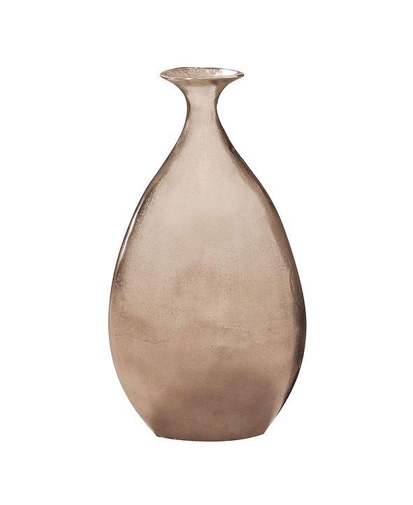 Howard Elliott Champagne Bronze Vase, Large