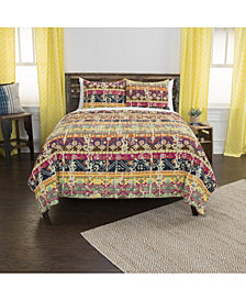 Riztex USA Dash Queen 3 Piece Quilt Set