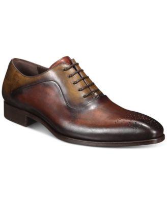 Mezlan Men's Two-Tone Oxford Shoes