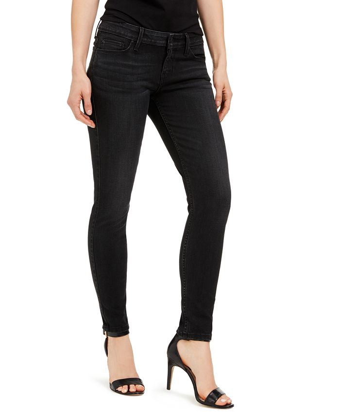 GUESS - Mid-Rise Skinny Jeans