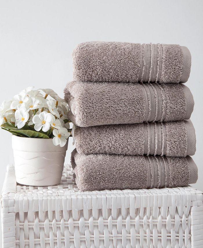 OZAN PREMIUM HOME - Cascade Hand Towel 4-Pc. Set