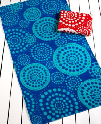 Martha Stewart Collection Dots Beach Towel