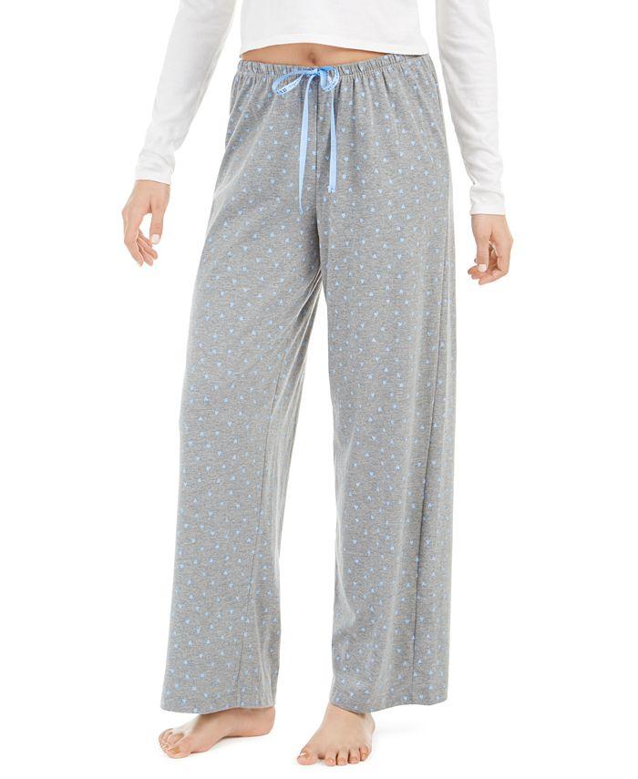 Hue - Heart-Print Pajama Pants