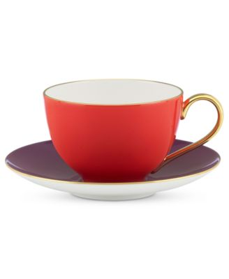 kate spade new york Dinnerware, Greenwich Grove Cup and Saucer Set