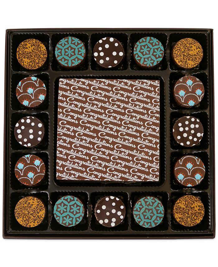 Chocolate Works - 17-Pc. Congratulations Gourmet Chocolate Truffles