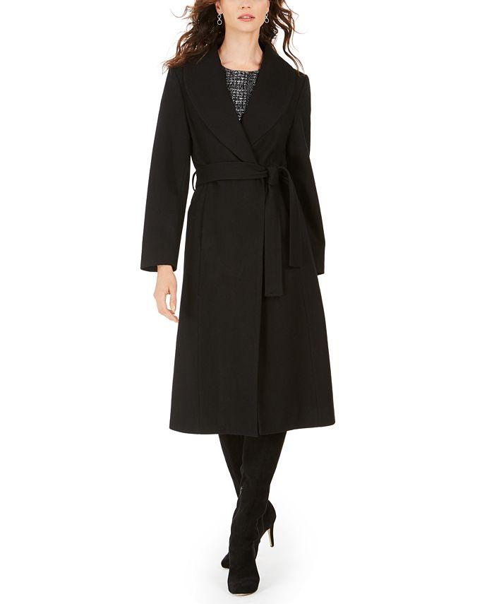 Jones New York - Belted Maxi Coat