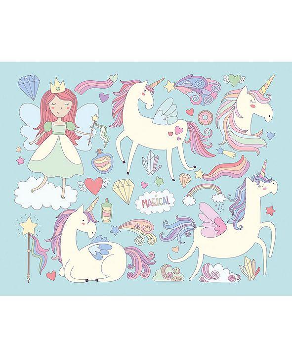 ohpopsi Unicorn Magic Wall Mural