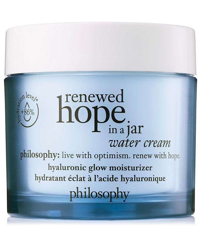 philosophy - Renewed Hope In A Jar Water Cream
