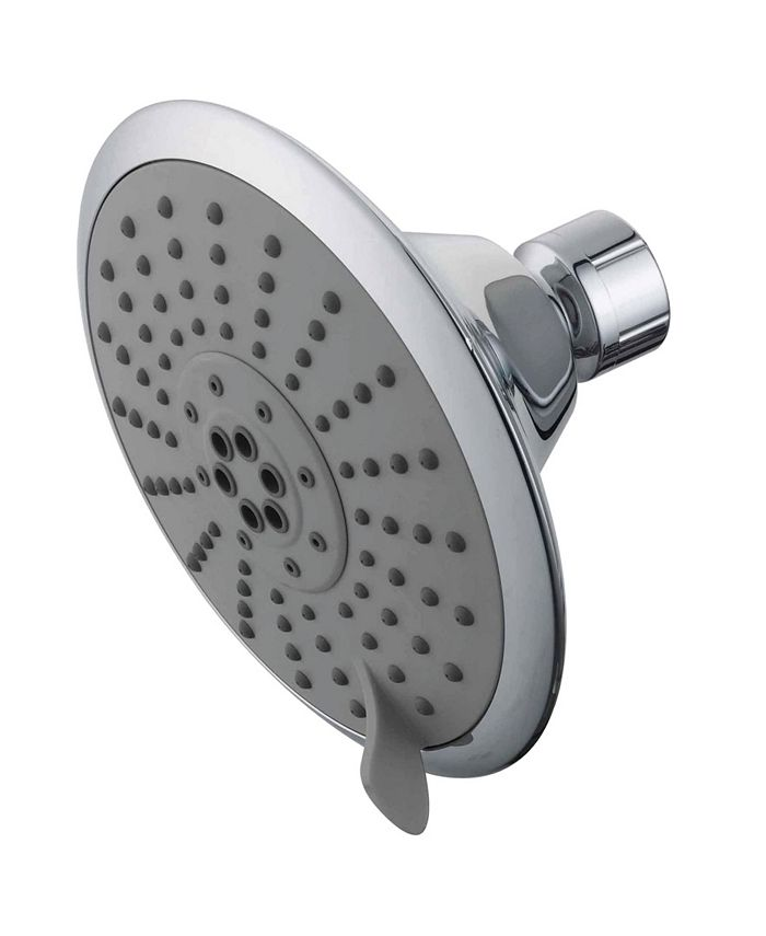Kingston Brass - Showerscape 5 Function 5-Inch 1.75GPM ABS Shower Head with ABS Bal-Jnt in Polished Chrome