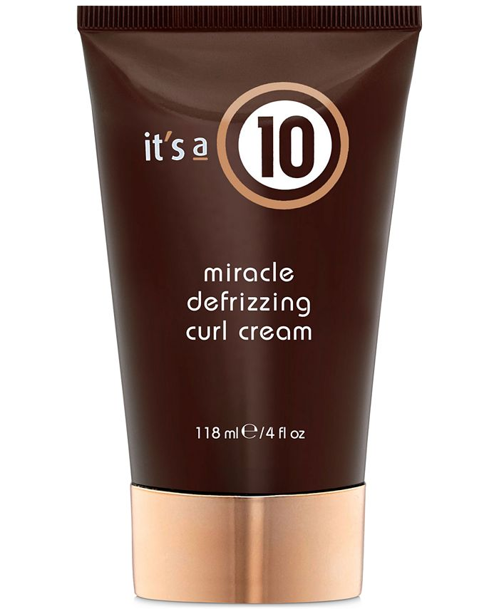 It's A 10 - It's a 10 Miracle Defrizzing Curl Cream, 4-oz.