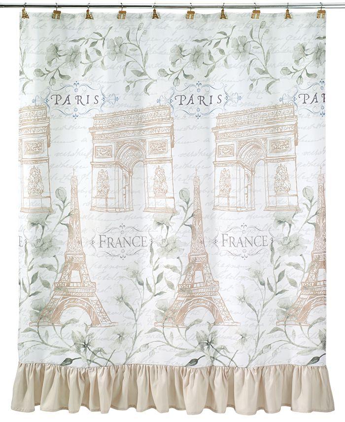 Avanti - Paris Botanique Shower Curtain