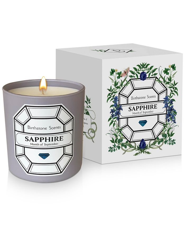 Birthstone Scents - Sapphire Candle, 8.5-oz.