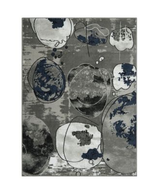 "Haven Lane HAL02 Gray 7'10"" x 10'2"" Area Rug"