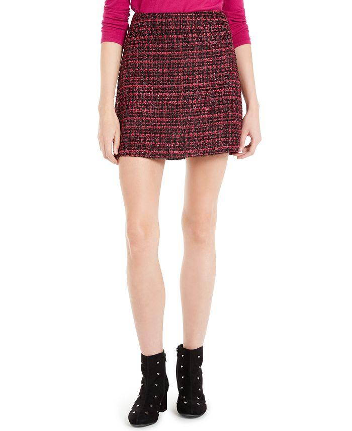 Maison Jules - Tweed Mini Skirt