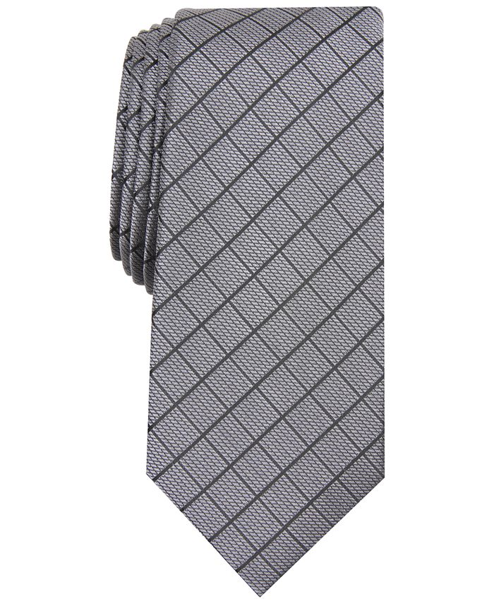 Alfani - Men's Slim Grid Tie