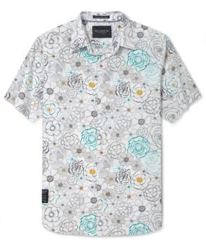 Rocawear Shirt Floral Print Short Sleeve Shirt