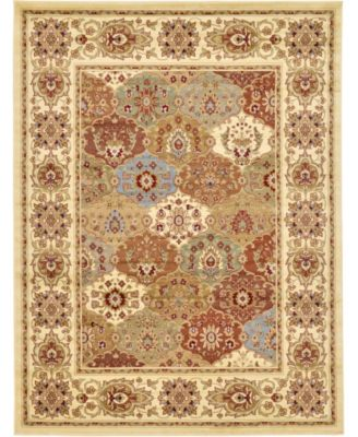 Passage Psg1 Ivory 8' x 8' Square Area Rug