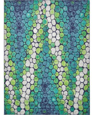 Politan Pol3 Light Green 9' x 12' Area Rug
