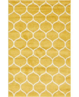 Plexity Plx2 Yellow 8' x 10' Area Rug