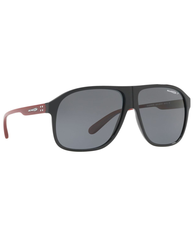 Arnette Men's Polarized Sunglasses, AN4243 & Reviews - Sunglasses by Sunglass Hut - Men - Macy's