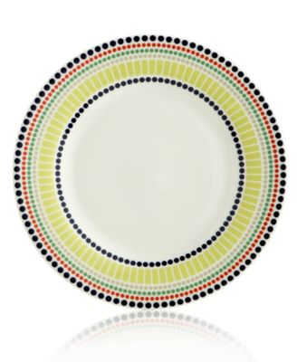kate spade new york Dinnerware, Hopscotch Drive Dotted Accent Plate
