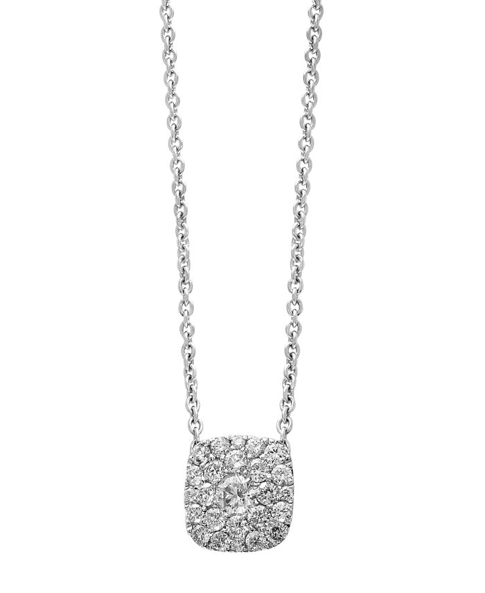 EFFY Collection - BOUQUET By EFFY Diamond Pendant in 14k White Gold