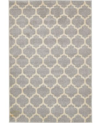Arbor Arb1 Light Gray 6' x 6' Round Area Rug