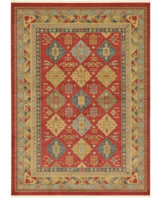 Harik Har2 Red 5' x 8' Area Rug