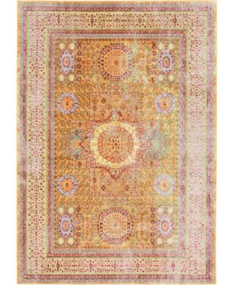 Malin Mal1 Gold 7' x 10' Area Rug