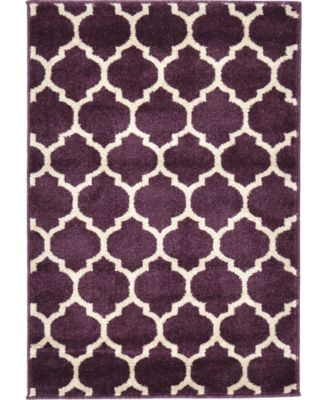 Arbor Arb1 Purple 10' x 10' Round Area Rug
