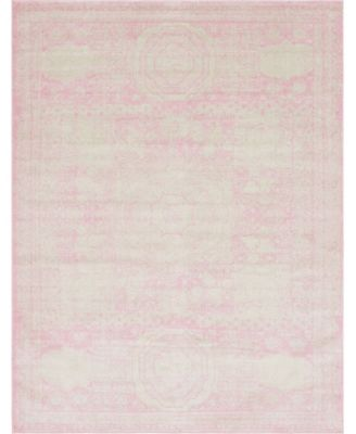 Mobley Mob2 Pink 4' x 6' Area Rug