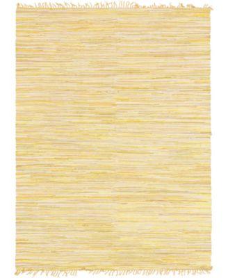 Jari Striped Jar1 Yellow 8' x 10' Area Rug