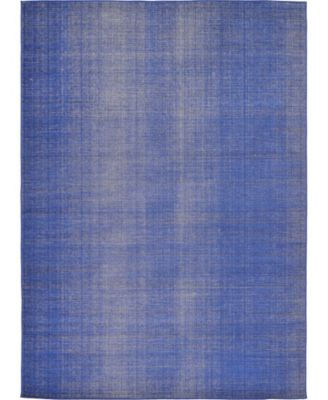 Axbridge Axb3 Navy Blue 4' x 6' Area Rug