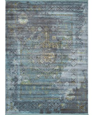 Kenna Ken5 Dark Gray 10' x 13' Area Rug