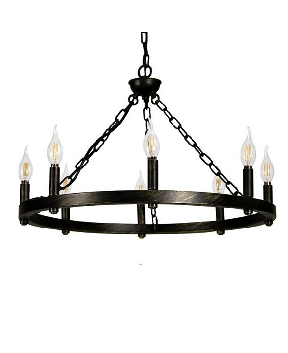Cenports Canyon Home 8 Light Chandelier