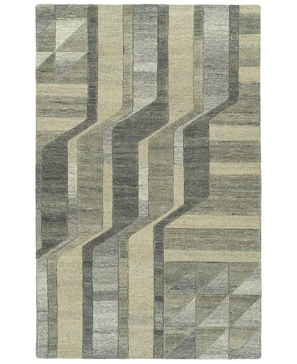 Kaleen Alzada ALZ02-49 Brown 2' x 3' Area Rug
