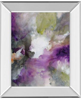 "Cosmic III by Douglas Mirror Framed Print Wall Art - 22"" x 26"""