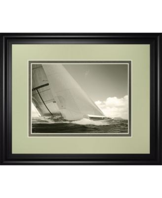 "Sea Spray I by Michael Kahn Framed Print Wall Art - 34"" x 40"""