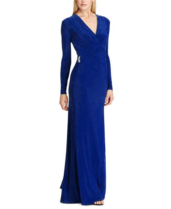 Lauren Ralph Lauren - Shirred Jersey Gown