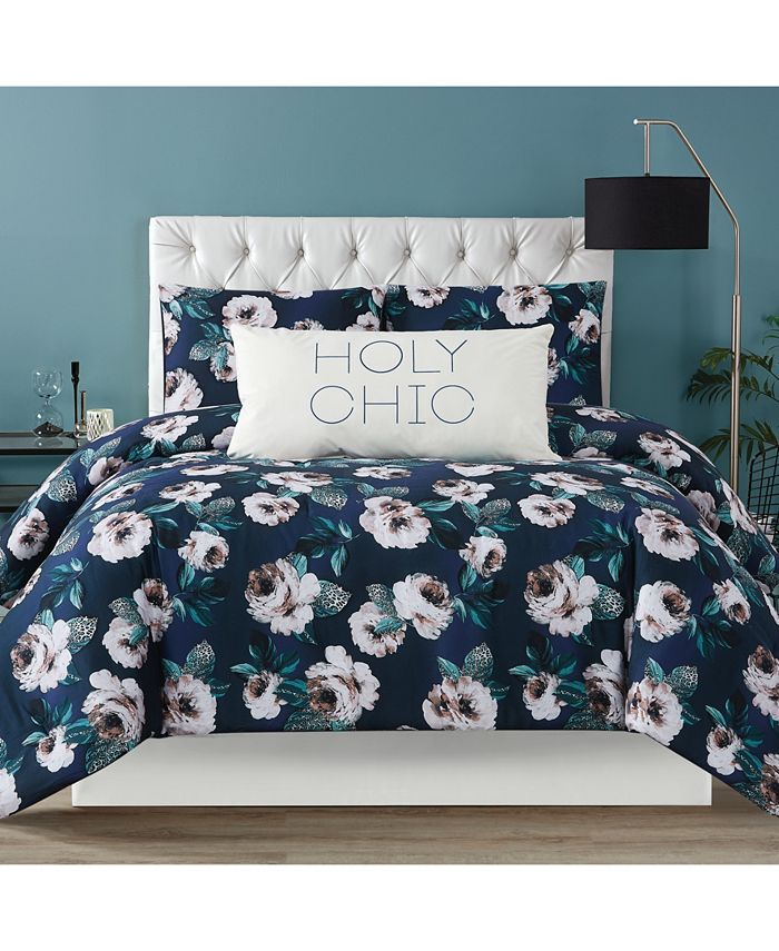 Christian Siriano New York - Mags Floral Twin Extra Large Comforter Set