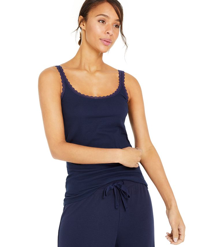 Style & Co - Lace-Trimmed Camisole Top